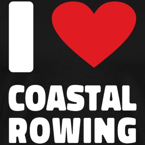 Coastal Rowing Rudern Rudersport Regatta Shirt - Männer Premium T-Shirt