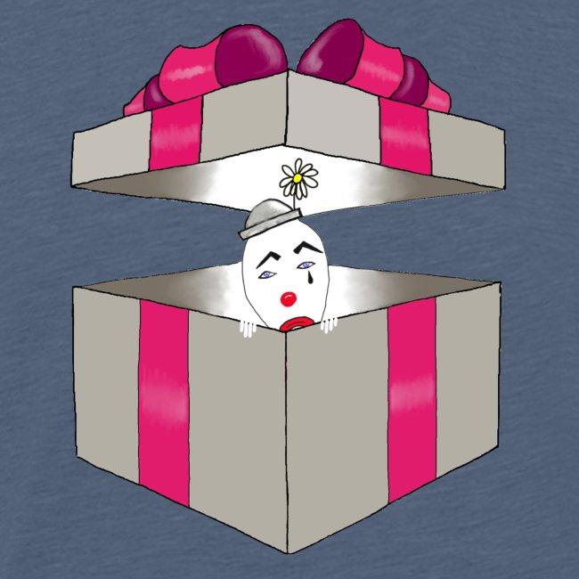 clown dans la boite