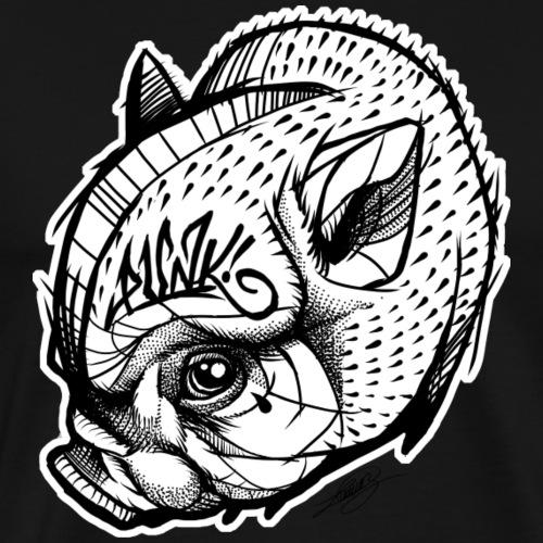 Punky Pig! - Camiseta premium hombre