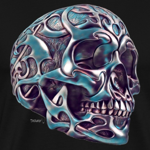 Celtic Skull - Men's Premium T-Shirt