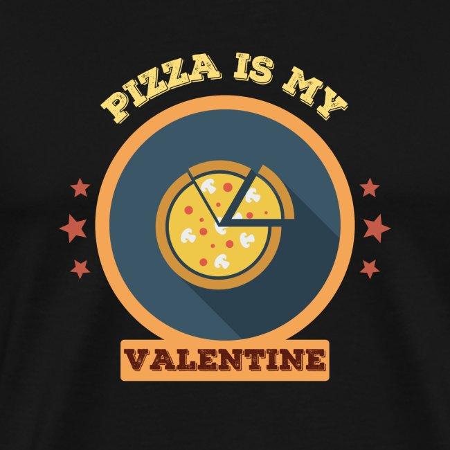 Pizza is my valentine