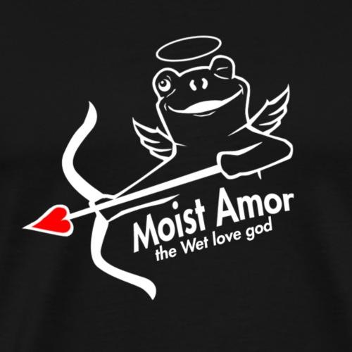 Moist Amor, the even Wetter love god - Premium-T-shirt herr