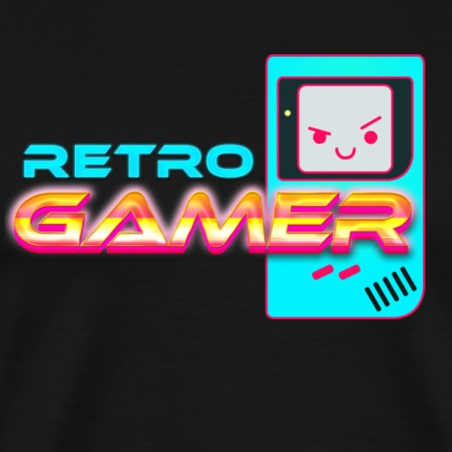 retro gamer - T-shirt Premium Homme