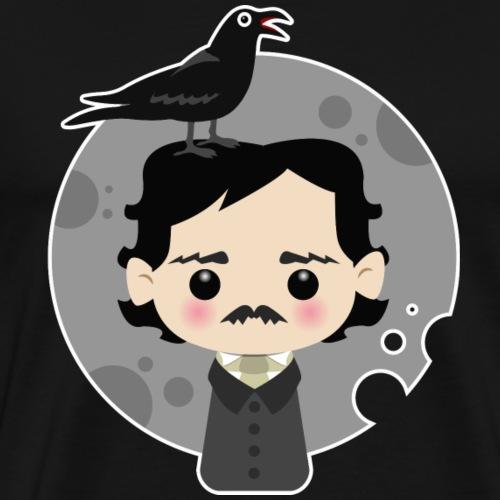 Edgar Allan Poe - Maglietta Premium da uomo