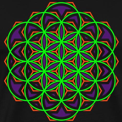 Flower of Life 2 - Camiseta premium hombre