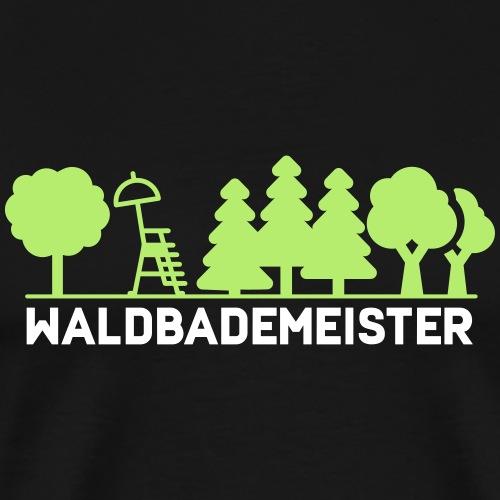 Waldbademeister fürs Waldbaden und Waldbad - Männer Premium T-Shirt