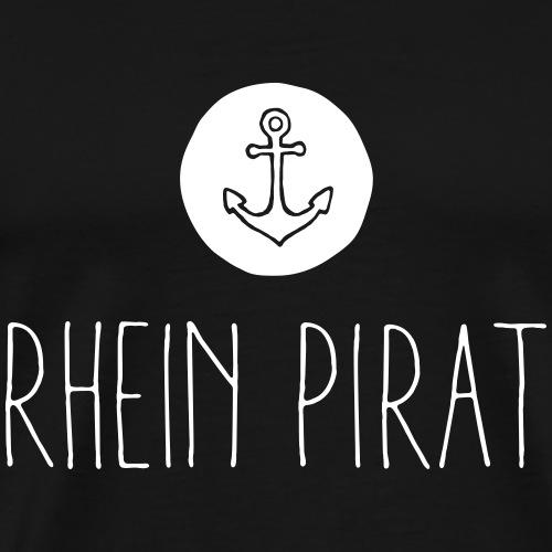 Rhein Pirat - Männer Premium T-Shirt