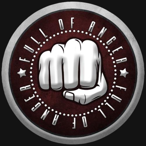 Full of Anger Logo #1 - Premium-T-shirt herr