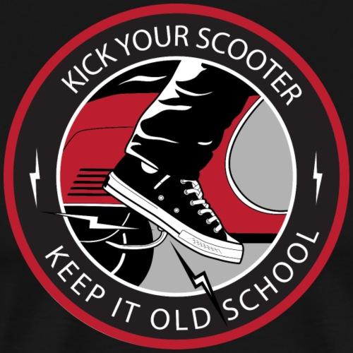 Keep It Oldschool Black Edition - Männer Premium T-Shirt