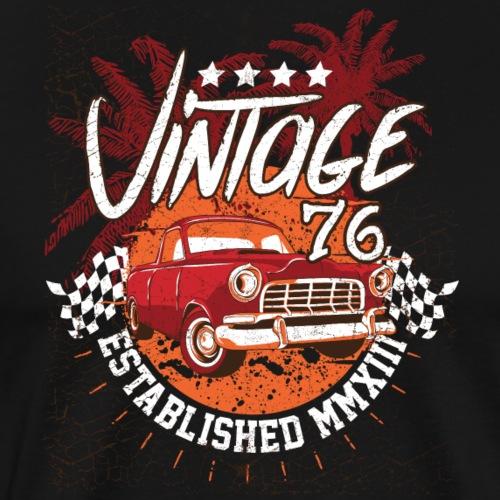 Vintage Jahrgang-Shirt 76 Tees Shirt