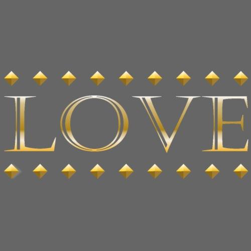 Love oro - Camiseta premium hombre