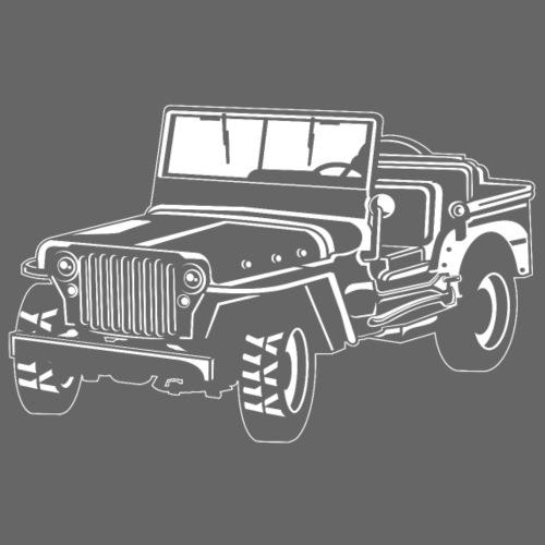 Geländewagen / Jeep SUV 02_weiß - Männer Premium T-Shirt