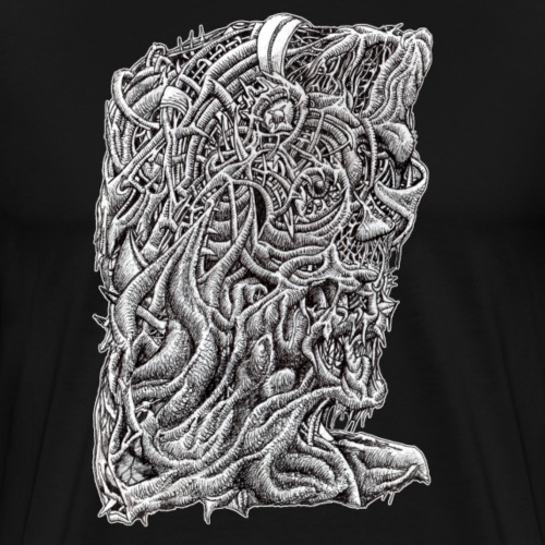 Innerbeastman by Brian Benson - Men's Premium T-Shirt