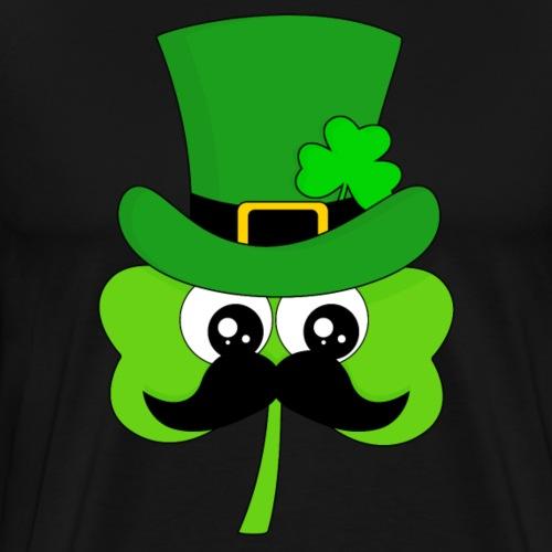 Clover Hipster - Männer Premium T-Shirt