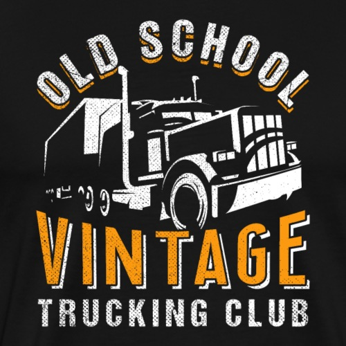 Old School | Vintage Trucking Club - Männer Premium T-Shirt