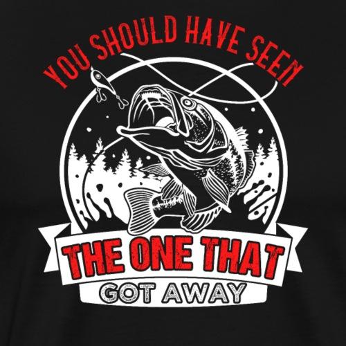 The One Bass Fishing - Männer Premium T-Shirt