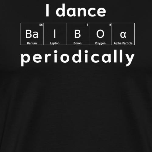 Balboa Swing Tanz Geschenk T-Shirt I Tanzkleidung - Männer Premium T-Shirt