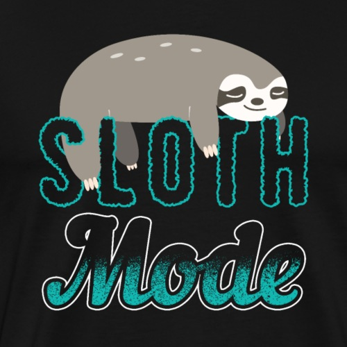 Sloth Mode Tired AF Running Shirt - Männer Premium T-Shirt