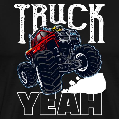 Monster Truck Yeah - Männer Premium T-Shirt
