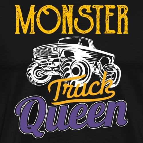 Monster Truck Queen - Männer Premium T-Shirt