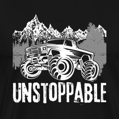 Unstoppale Monster Truck - Männer Premium T-Shirt