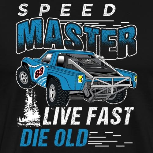 Speed Master Live Fast Die Old - Männer Premium T-Shirt