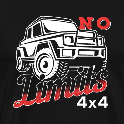 No Limits Jeep Off Road - Männer Premium T-Shirt
