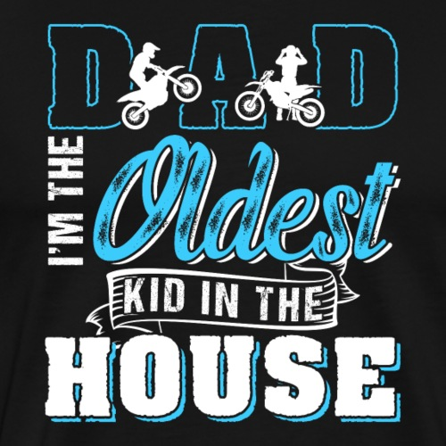 Motocross Dad Dirt Bike - Männer Premium T-Shirt