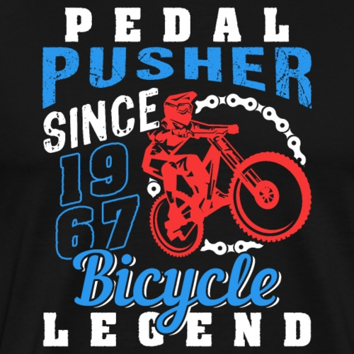 Pedal Pusher 1978 Birthday - Männer Premium T-Shirt