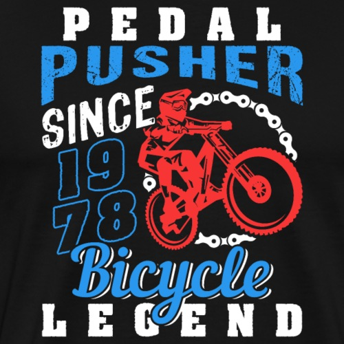 Pedal Pusher 1967 Birthday - Männer Premium T-Shirt