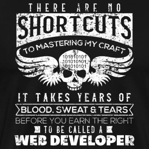 Web Developer - Männer Premium T-Shirt