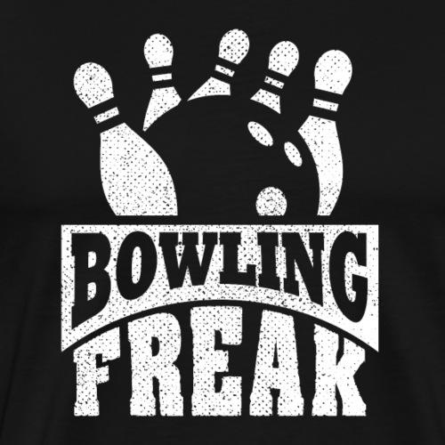 Bowling Freak Bowler - Männer Premium T-Shirt