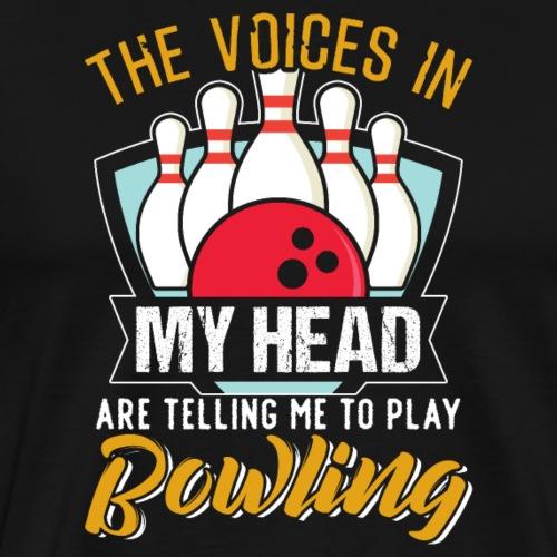 Bowling Team - Männer Premium T-Shirt
