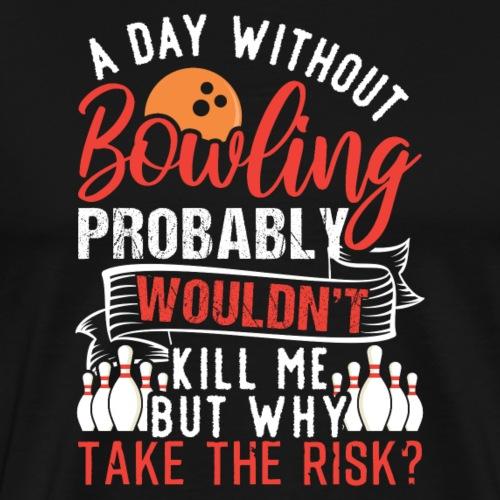 Bowling Fan Team Player - Männer Premium T-Shirt