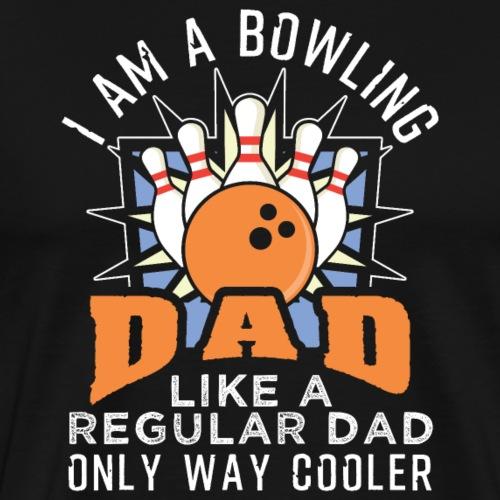 Bowling Dad - Männer Premium T-Shirt
