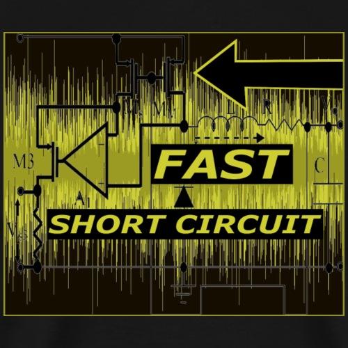FAST SHORT CIRCUIT - T-shirt Premium Homme