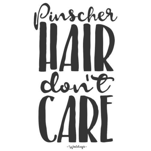 pinscherhairdontcare2 - Miesten premium t-paita
