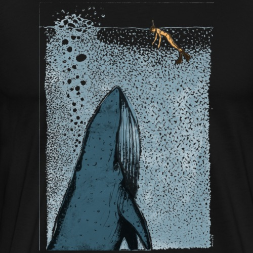 Whale watches - Männer Premium T-Shirt