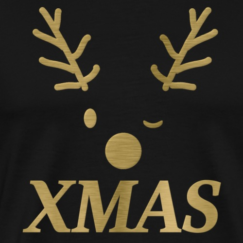 xmas rudolf - Männer Premium T-Shirt