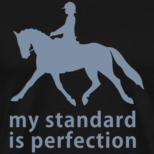 Nagroda za ujeżdżenie - ujeżdżenie konia - jazda konna - ujeżdżenie - Koszulka męska Premium