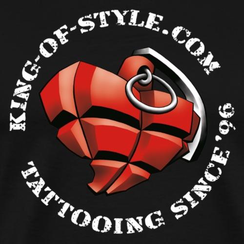 King-of-Style Logo 2 - Männer Premium T-Shirt
