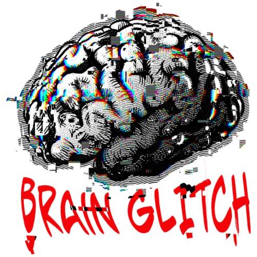 Brain glitch - Camiseta premium hombre