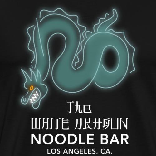 White Dragon Noodle Bar - Männer Premium T-Shirt