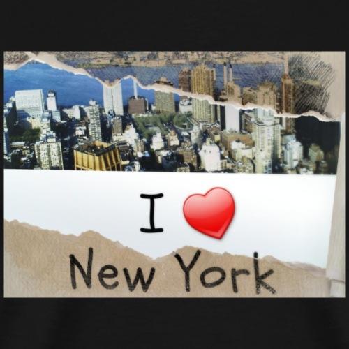 Print New York Shirt 1 - Männer Premium T-Shirt