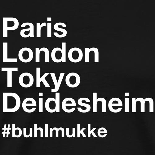 Buhl helv white - Männer Premium T-Shirt
