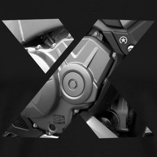 Silnik X 8XM02 - Koszulka męska Premium