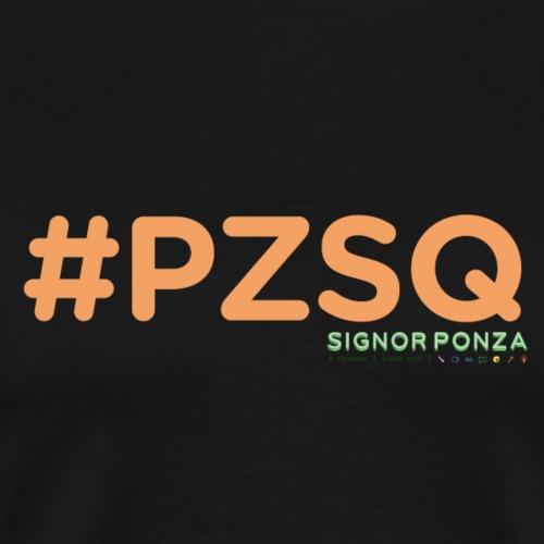 PZSQ - Maglietta Premium da uomo