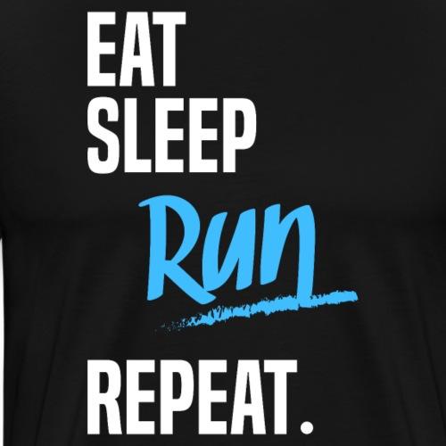 EAT SLEEP RUN -2 - T-shirt Premium Homme