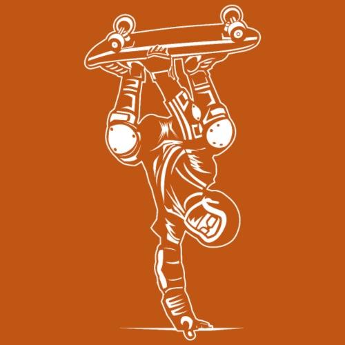 Skater / Skateboarder 02_weiß - Männer Premium T-Shirt