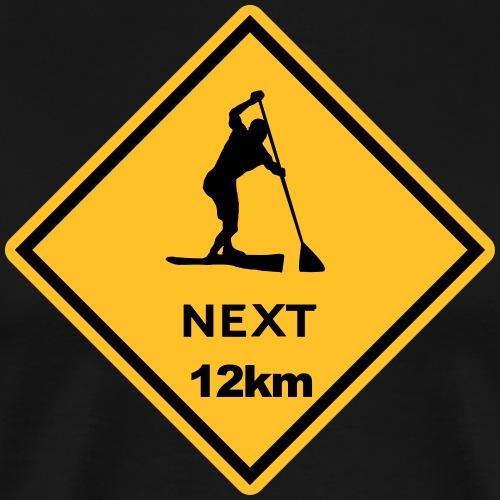 sup Australien Roadsign - Männer Premium T-Shirt